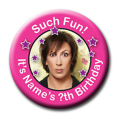 Miranda Hart Birthday Badge, Mirror, Magnet, Bottle Opener