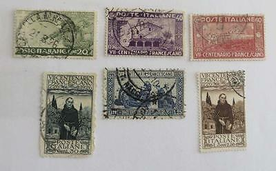 Italy 1926 St Francis small collection used