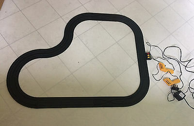 AFX Aurora circuit track with controllers power supply barriers GX1750
