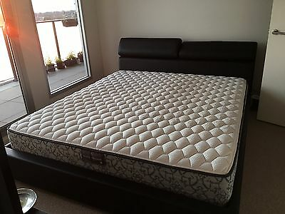 As New King Bed Frame & Mattress