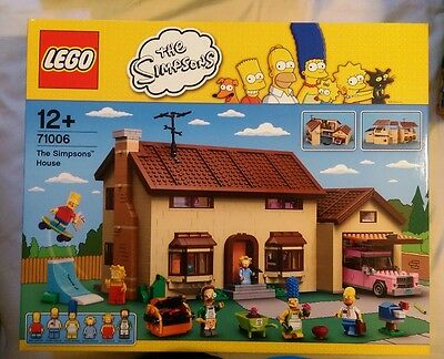 Lego Simpsons House - 71006 - BRAND NEW & SEALED