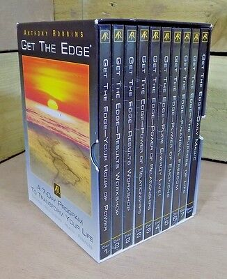 Get the Edge - Anthony Robbins - 10 CD, 7 Day Self Help Transformation Programme