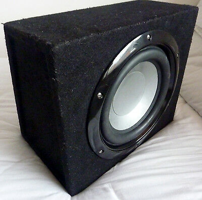 "Car Sub Woofer (10"") + 2 Channel Mosfet Amp (400w)"