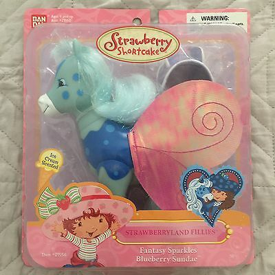 Strawberry Shortcake Bandai - Fantasy Sparkles BLUEBERRY SUNDAE Filly Very RARE