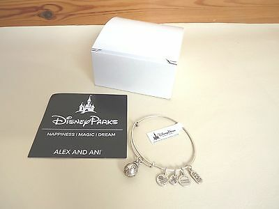 Disney WDW Alex And Ani Star Wars Bb 8 3D Unisex Charm Bangle Adjustable NEW