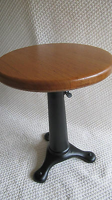 Vintage cast iron sewing machine STOOL -  CAN POST