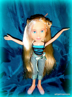 BLONDE OOAK REPAINTED BRATZ doll & Clothes Clean Excellent used condition.