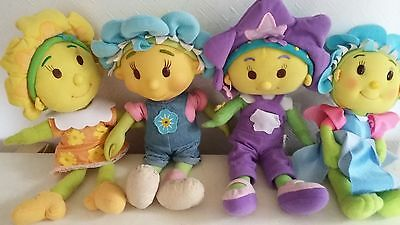 Fifi and the flowertots soft toys bundle