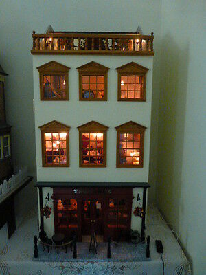"""Fully Furnished 1/12th Scale Dollshouse """"Tearooms Shop""""."""