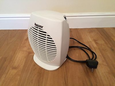 Parasene electric fan space heater 2000 W with mains plug (Model #594)