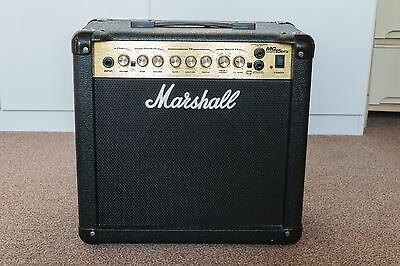Marshall MG15DFX guitar amplifier with effects