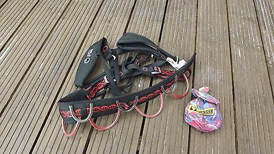 climbing harness Wild Country Syncro S small + edelweiss chalk bag