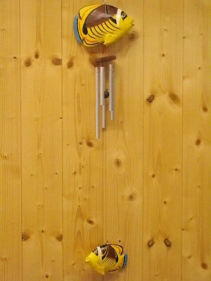 Carillon à Vent -wooden Wind Chime -Windspiel-Windgong, Bois/Holz, NEUF/NEW   22