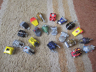 Collection, Lot, Bundle of 21 Robot Wars die-cast minibots - pullback friction B
