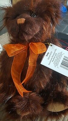 Charlie Bears Tatty 12 Inch Plush Jointed Bear Now Retired Super Cute