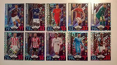 16 17 Match Attax Extra 9 Man Of The Match Cards All Listed Topps 2016/2017 Motm