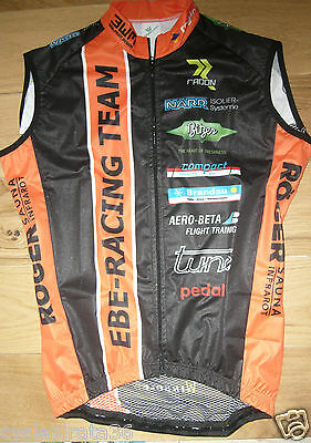 BNWOT Vermarc Radon- EBE Racing MTB Team wind vest . small