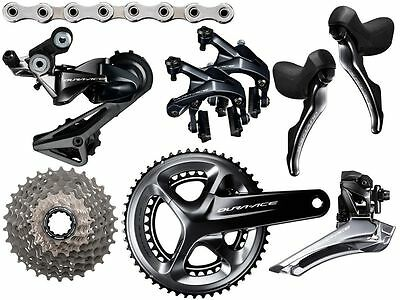 SHIMANO DURA ACE 9100 11 SPEED GROUPSET(crankset not included)11-28.COST$1900NEW