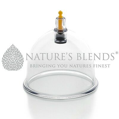 Nature's Blends Hijama Cups Cupping Therapy B2 5.8cm Free Next Day Delivery