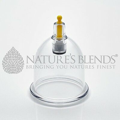 Nature's Blends Hijama Cups Cupping Therapy B3 4.6cm Free Next Day Delivery