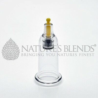 Nature's Blends Hijama Cups Cupping Therapy B6 2.9cm Free Next Day Delivery