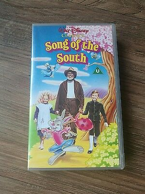 Walt Disney classics SONG OF THE SOUTH VHS Video Rare with hologram . Free post