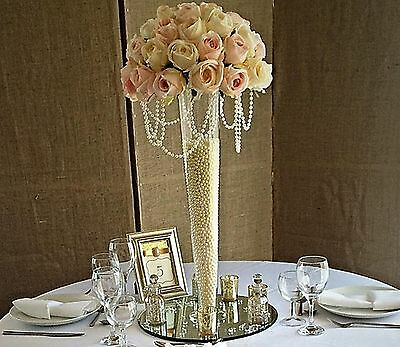 10 x Large Tall Conical Vase 60cm Wedding Table Centrepiece Event Decoration AP