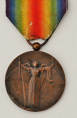 "France: French Ww1 Victory Medal Scarce ""charles"" Type"