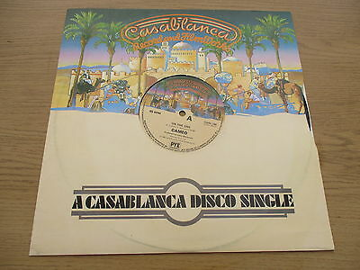 "Cameo ‎– On The One / Cameosis  Vinyl 12"" UK 1980 Funk /Soul CASABLANCA CANL 199"