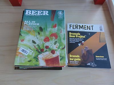17 issues of CAMRA BEER magazine Winter 2012 to Spring 2017 Craft Real Ale Cask
