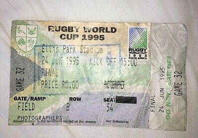 1995 Rugby World Cup Final Ticket