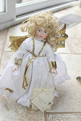 Betty Jane Carter blond Angel doll porcelain Bette Ball Goebel 1995 258/5000