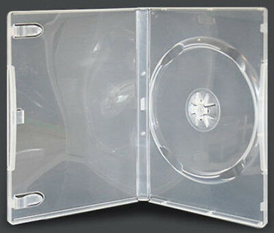 160 x 14mm Single Clear DVD Cases - Standard Size DVD case