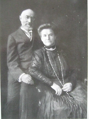 R M S Titanic Postcard -Mr And Mrs Isidor Straus