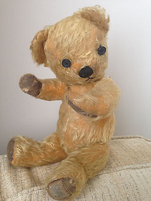 Vintage Chad Valley Jointed Mohair Teddy Bear