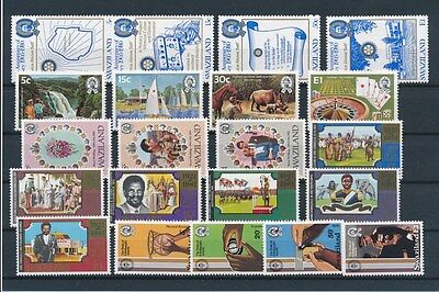[G94904] Swaziland good lot Very Fine MNH stamps