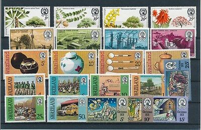 [G94906] Swaziland good lot Very Fine MNH stamps