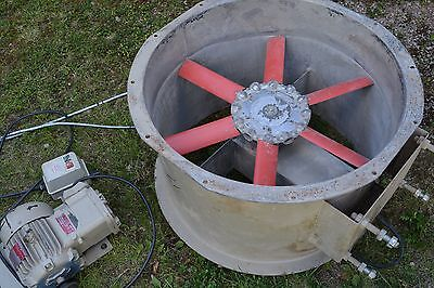 Spray booth extractor fan 600mm