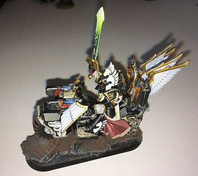 Dark Angels - Ravenwing Champion - pro painted