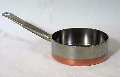 Revere Ware 5000 Line Institutional Copper Clad Stainless Sauce Pan 1 Qt Process