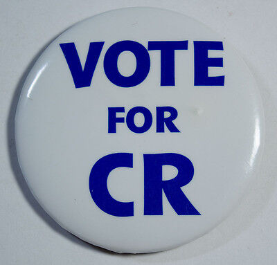 Chicago Mercantile Exchange Pin - Vote For CR