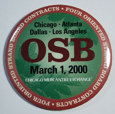 Chicago Mercantile Exchange Pin - OSB March 1, 2000