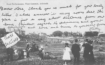 Band Performance, West Common, Arbroath.