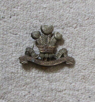 MILITARY CAP BADGE  EARL of CHESTER'S YEOMANRY
