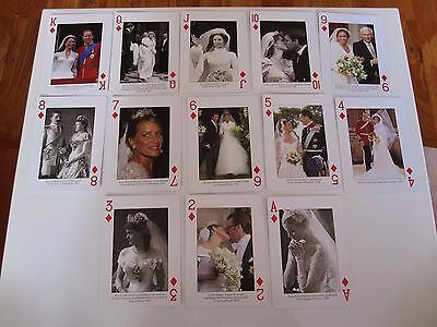 Highly Collectable Deck Piatnik Playing Cards Featuring Royal Brides