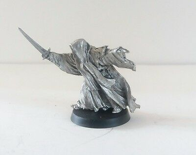 games workshop Lord of the rings Metal ring wraith