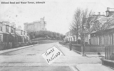 Hillend Road and Water Tower, Arbroath.