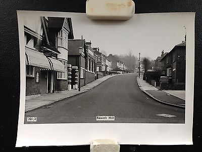 Two original printers proof photos  of ROXETH HILL HARROW 1960's & Nurses Hostel