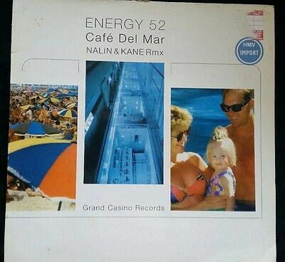 "Energy 52- Café del Mar (Import 12"" Nalin & Kane/ Hybrid Remixes) Trance/ Breaks"