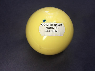 Regulation 2.25 Aramith Blue Dot Cue Ball New Old Stock Made In Belguim